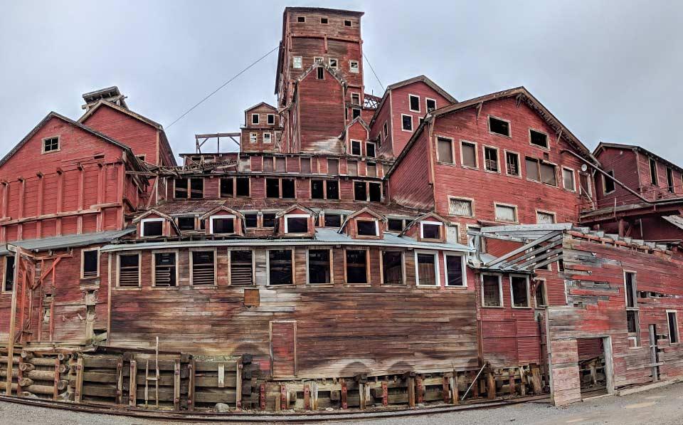 14 story mining building