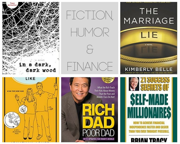 2017 Fiction, Humor, and Finance books