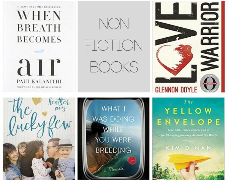 2017 Non Fiction books