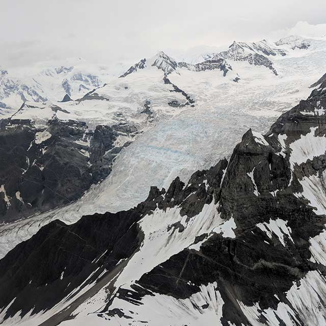 Flightseeing Mountain Glacier