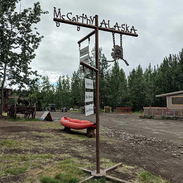 McCarthy Alaska signage