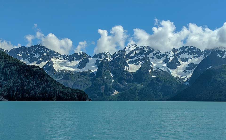 Resurrection Bay Tour Mountains