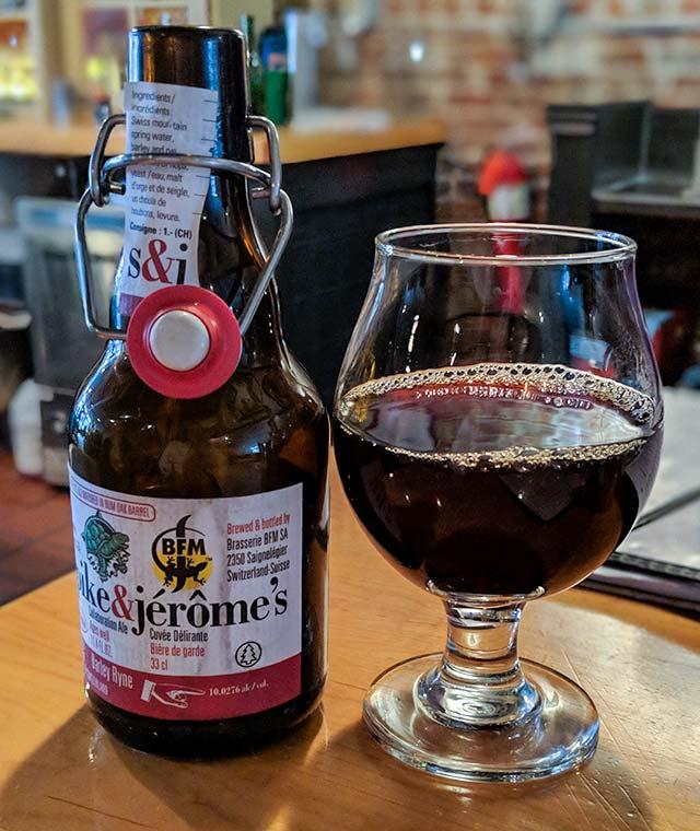 BFM / Terrapin Spike & Jérôme's Cuvée Délirante (Collaboration Ale)