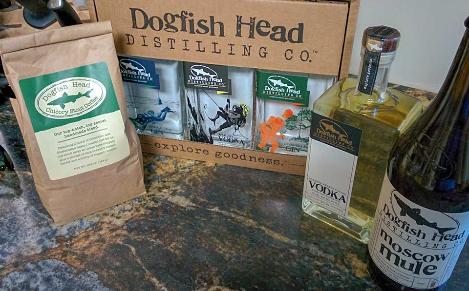 Dogfish coffee and spirits