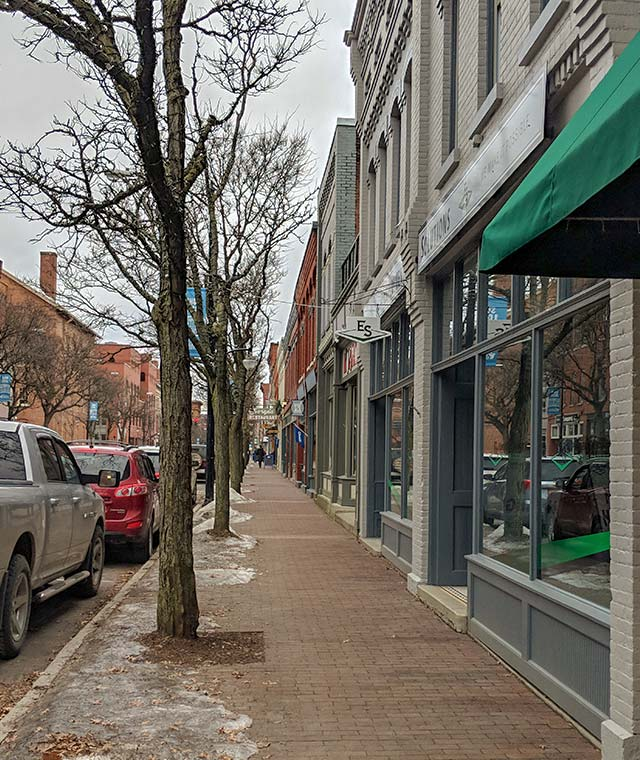 Downtown Corning Gaffer District