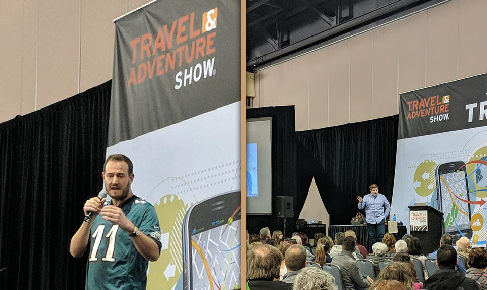 Travel and Adventure Show Speakers